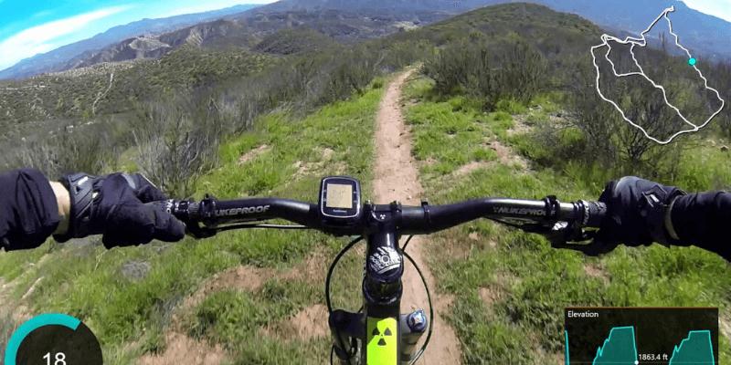 GPS para ciclismo de montaña