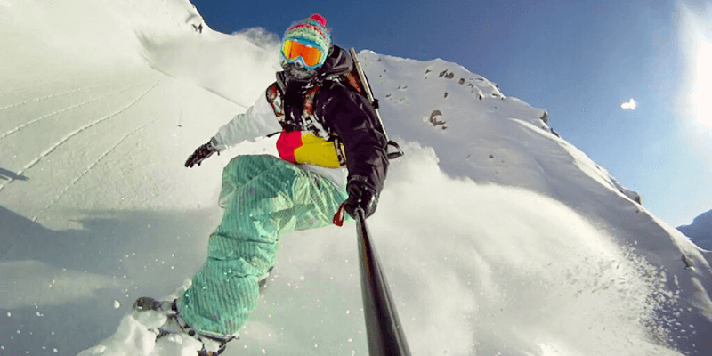 GoPro Mount for Snowboarding