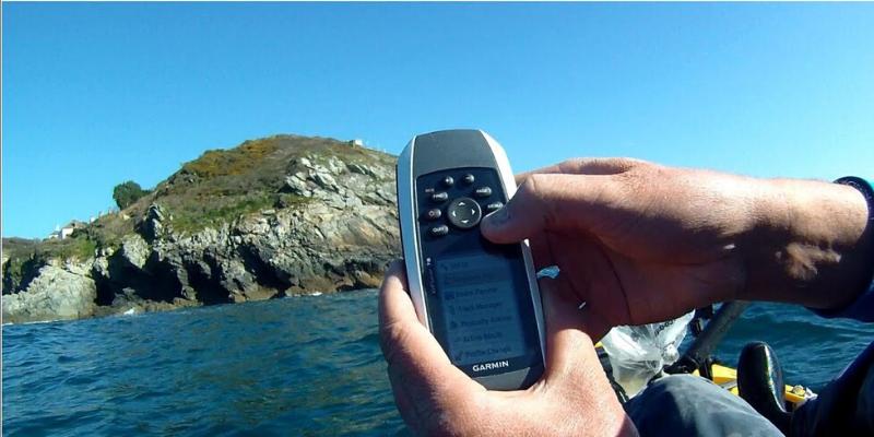 GPS de mano para pescar