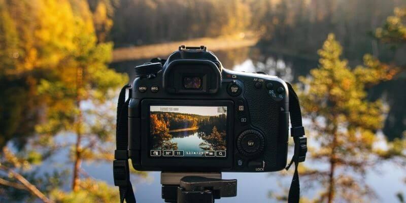 paisaje de la cámara
