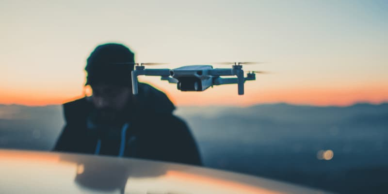 drone para viajar