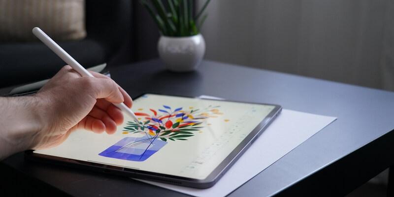 tableta para diseño gráfico