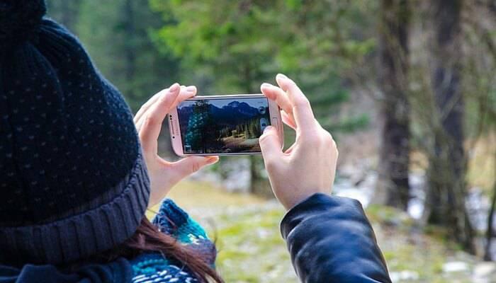 tomar fotos con un teléfono Android